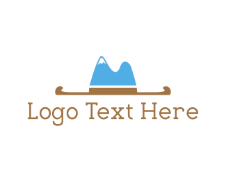 Hill - Hat Mountain logo design