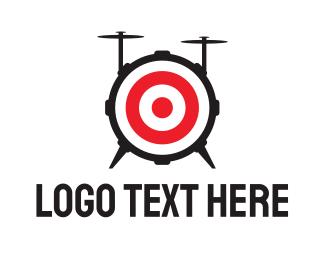 Band - Drum Target logo design