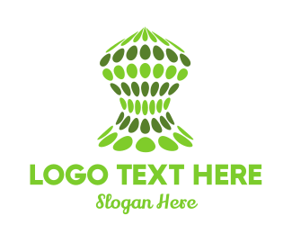 Dots - Tech Cocoon logo design