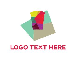 Tea - Colorful Cup logo design