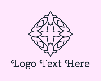 Floral - Floral Crown logo design