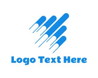 Learn - Flying Books logo design