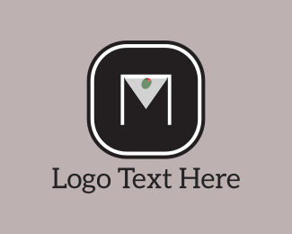 Nightclub - Martini M logo design