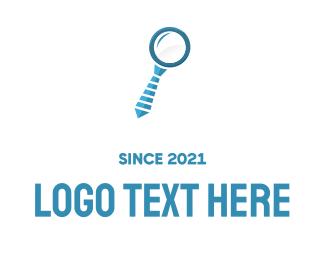 Spy -  Business Search logo design