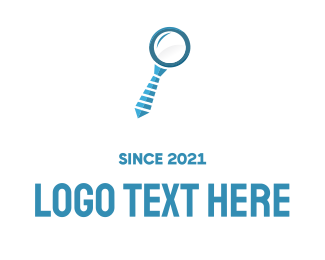 Hire -  Business Search logo design