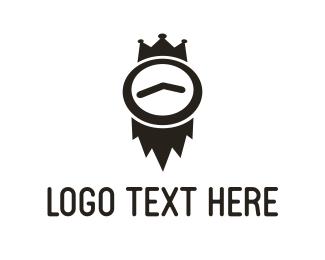 King - Time King logo design