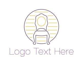 Antique - Antique Chair logo design