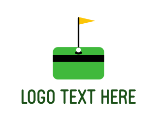 Card - Money Golf logo design