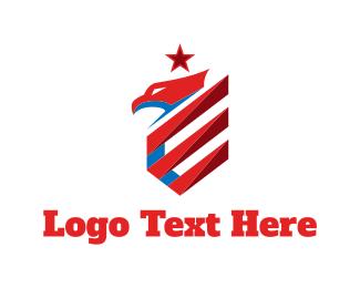 American - American Eagle logo design