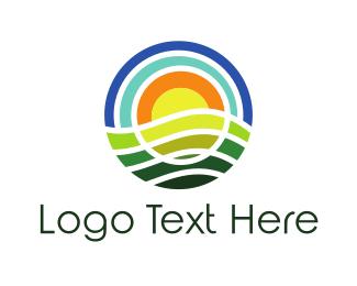 Sunny - Round Nature logo design