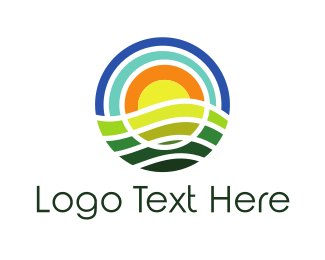 Commodity - Round Nature logo design