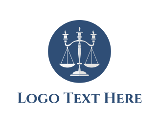 Candle - Candle Laws logo design