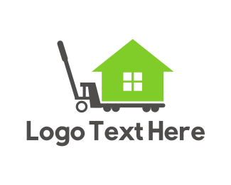 Removalist - Moving House logo design