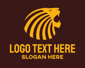 Roar - Lion Roar logo design