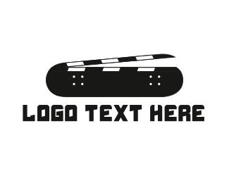 Skateboarding - Skateboarding Film logo design