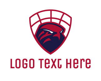 Defense - Falcon Basketball  logo design