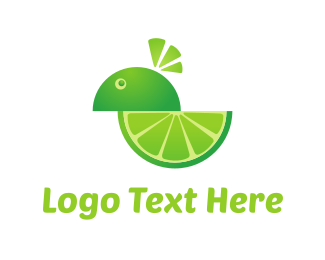 Lemon - Lime Character logo design