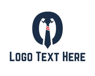 Recruiter - Shirt & Tie logo design