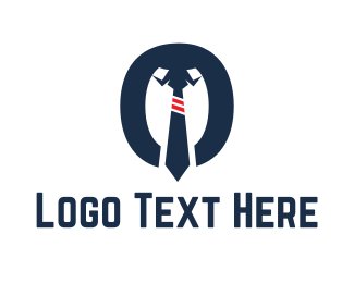 Hire - Shirt & Tie logo design