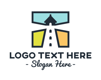 Nautical - Lighthouse Square logo design