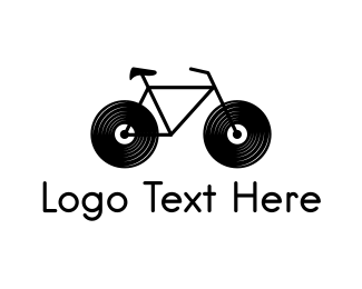 Vinyl - Audio Bike logo design