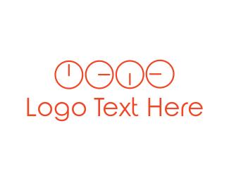 Minute - Time Zones logo design