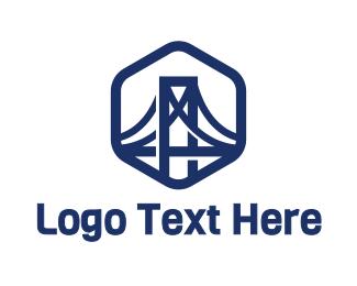 Bridge - Iron Bridge logo design