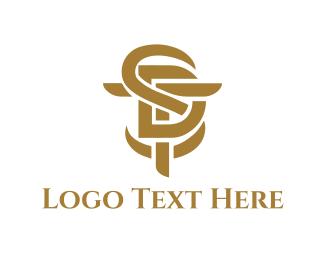 Alphabet - SDT Lettermark logo design