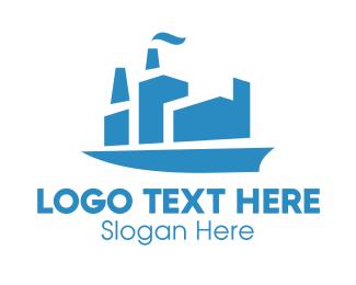 Cargo - Black Ship logo design
