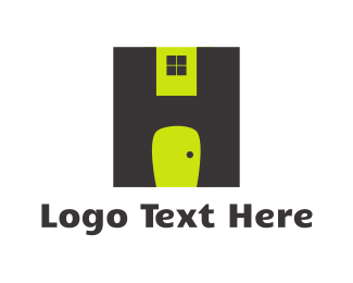 Roofing - Door & Window logo design