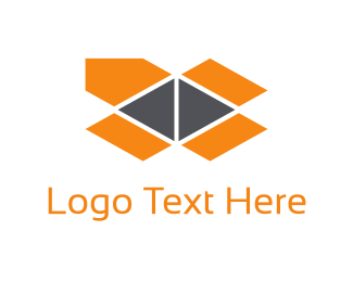 Storage - Orange Package logo design