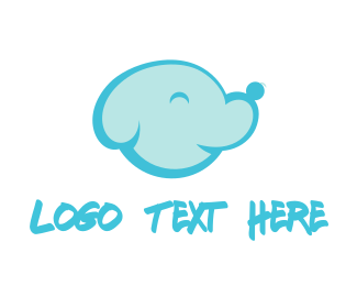 Doggy - Dog Cloud logo design