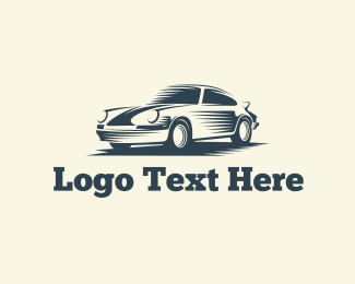 Vehicle - Classic Car logo design