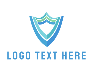 Armour - Blue Shield logo design