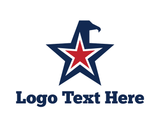 Veteran - Eagle Star logo design