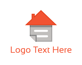 Paper - Home Note logo design