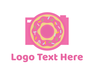 Donut - Donut Camera logo design
