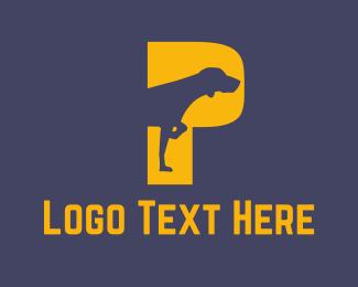 Track - Pointer Dog logo design