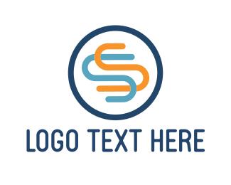 """S Circle"" by LogoPick"