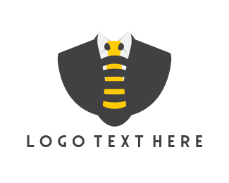 Tailor - Bee Tie logo design