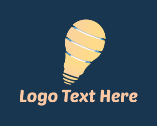 Lamp - Light Bulb logo design