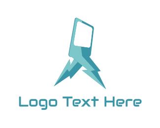 Iphone - Fast Tel logo design
