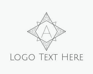 Star - Star Letter A logo design