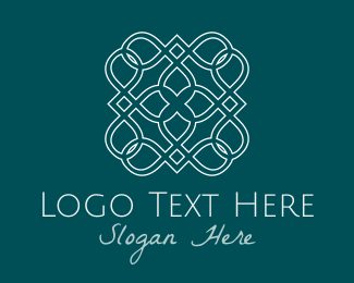 White - White Tile logo design