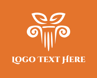 Bali - Column Decor logo design