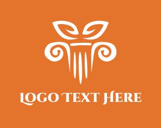 Infrastructure - Column Decor logo design