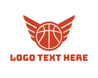 Tournament - Basketball Wings logo design