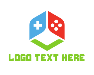 Gaming - Dice Gaming Controller logo design