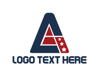 Veteran - Patriotic Triangle logo design