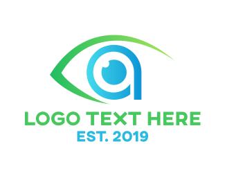 Optical - Modern Vision A logo design